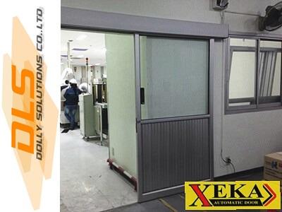 หจก.จำกัดอีสเทิร์นโปรฯติดตั้งประตูอัตโนมัติ XEKA